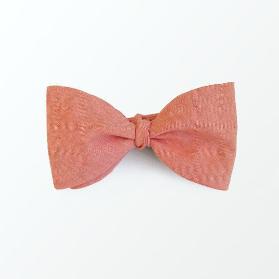 25+ best ideas about Peach Bow Tie on Pinterest