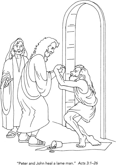 12 best images about Peter and John Acts 3 on Pinterest