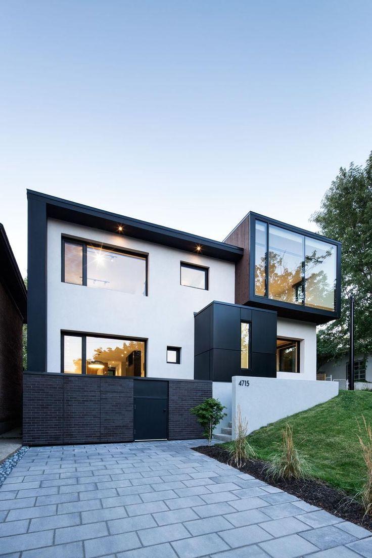 17 Best ideas about Modern House Facades on Pinterest  Modern architecture design Modern house