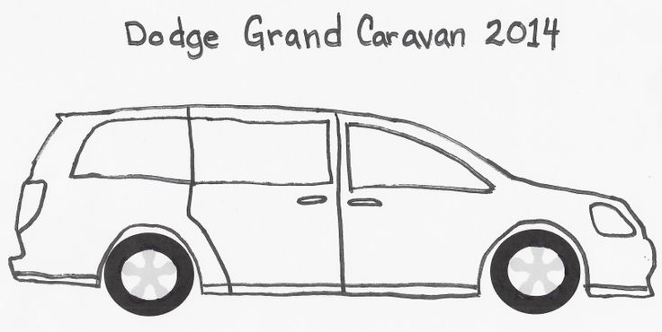 Dodge Grand Caravan Coloring Page Coloring Pages