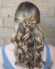 ideas flower braids