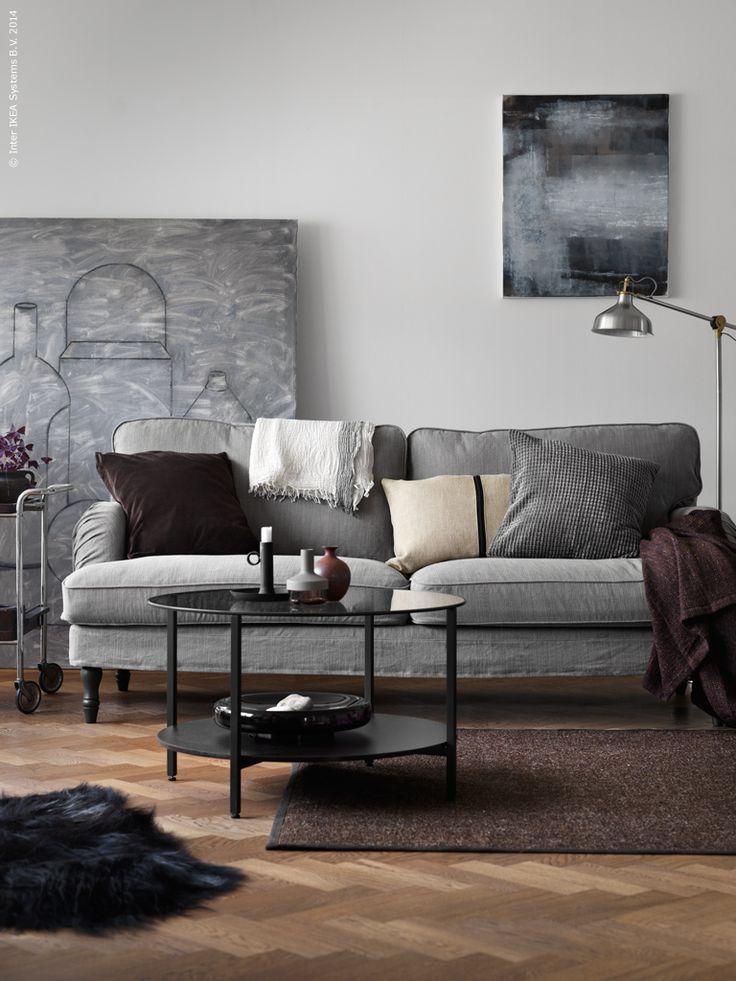 house beautiful living room ideas chaise lounge furniture soffan stocksund i klassisk howardmodell. här som33-sits ...