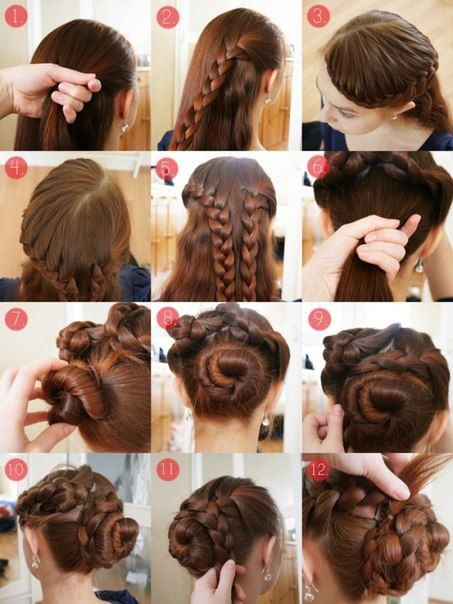 18 Best Images About Hairstyles Step By Step On Pinterest Simple