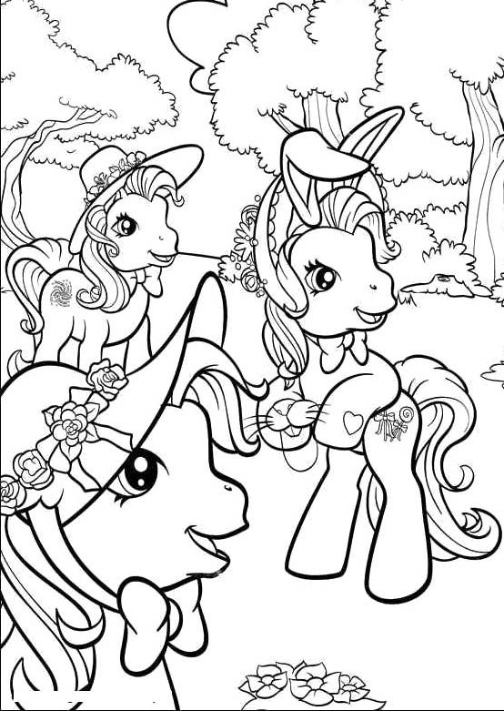 17 Best images about My little Pony Coloring Pages on