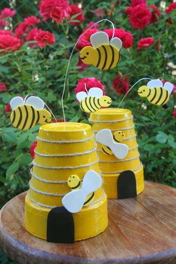 25 Best Ideas About Garden Crafts On Pinterest Outdoor Crafts