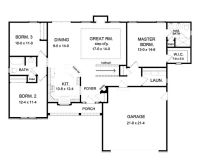 17 Best ideas about Ranch Floor Plans on Pinterest | Ranch ...