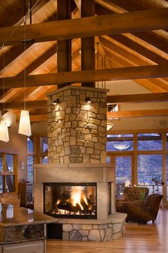 Best 25 Two Sided Fireplace ideas on Pinterest  Double sided fireplace Double fireplace and