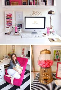 1000+ ideas about Office Desk Decorations on Pinterest