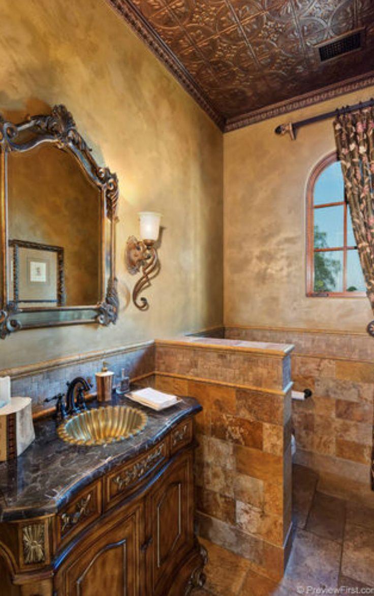25 Best Ideas About Tuscan Bathroom On Pinterest