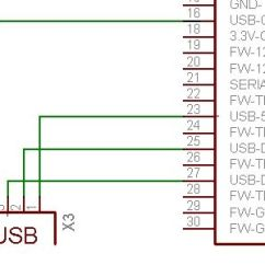 Rs232 To Rj45 Wiring Diagram Botox Facial Muscle Pinout Image Of Usb Ipod Dock - Connector Diagrams | Electronic Pinterest ...