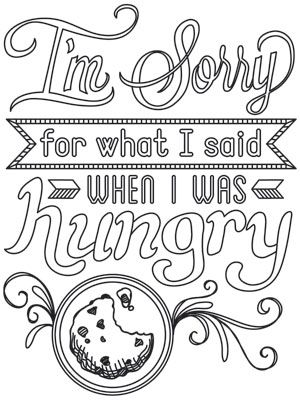I Am Sorry Coloring Pages Sketch Coloring Page