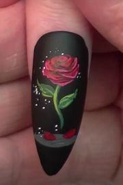 ideas rose nail
