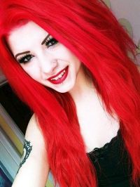 17 Best ideas about Bright Red Hair Dye on Pinterest