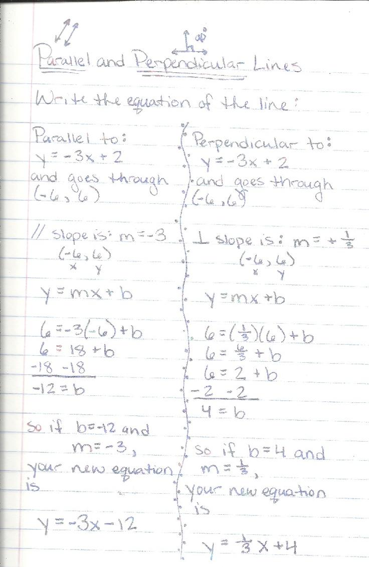 medium resolution of 30 Algebra 1 Parallel And Perpendicular Lines Worksheet - Worksheet  Resource Plans