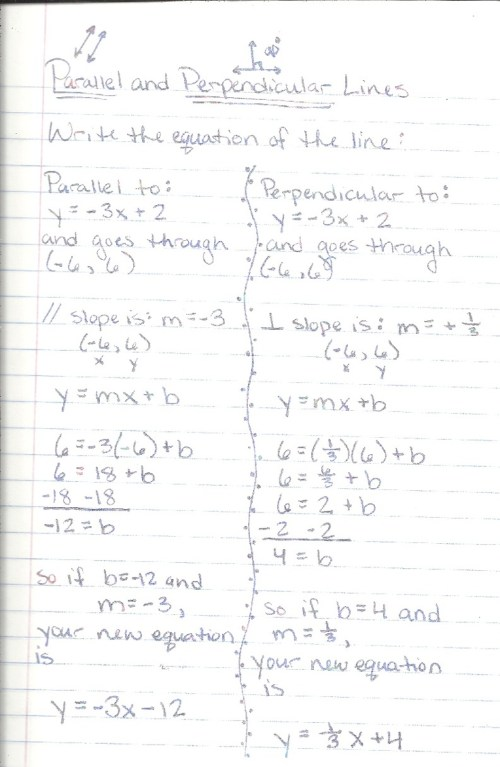 small resolution of 30 Algebra 1 Parallel And Perpendicular Lines Worksheet - Worksheet  Resource Plans