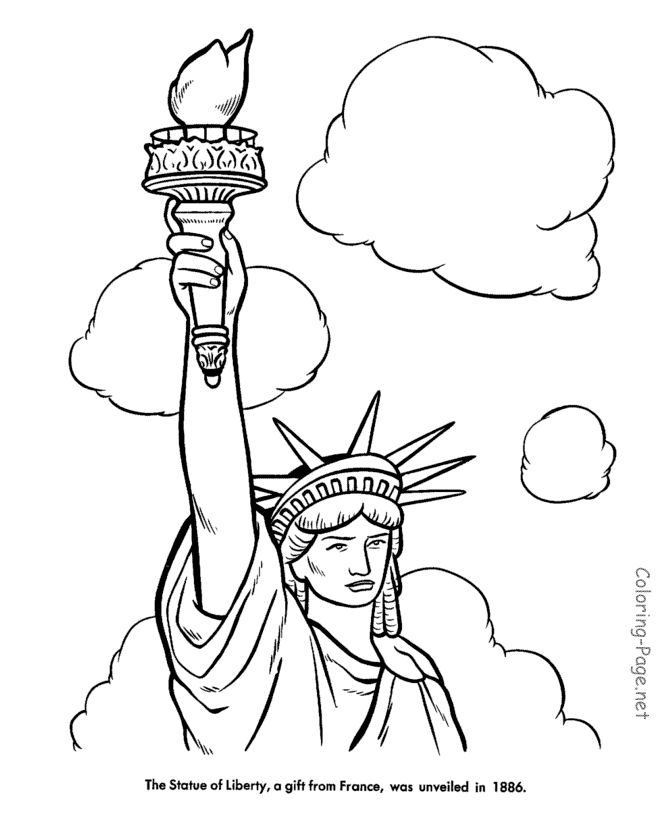 17 Best ideas about Statue Of Liberty Drawing on Pinterest