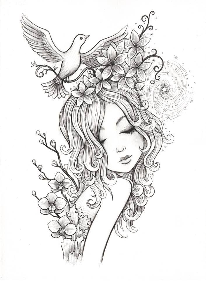 De 209 bedste billeder fra mindfullness drawing på Pinterest