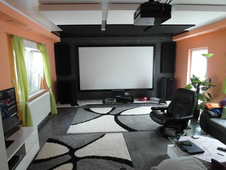 1000 ideas about Home Theater Rooms on Pinterest  Home