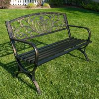 25+ best ideas about Metal garden benches on Pinterest ...