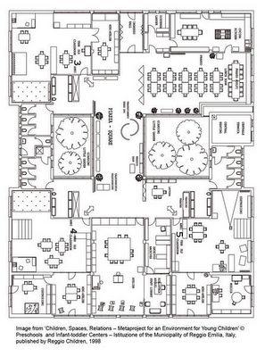 Reggio emilia, Reggio and Floor plans on Pinterest