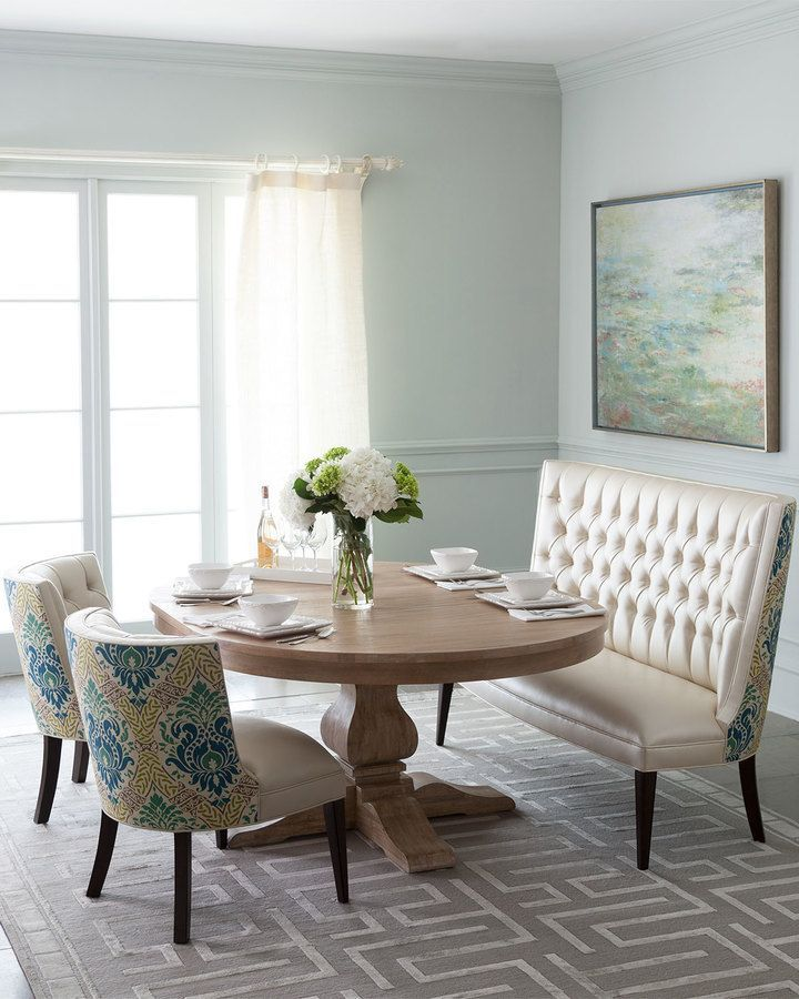 25 best ideas about Settee dining on Pinterest