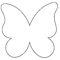 Butterfly template, Google and Patterns on Pinterest