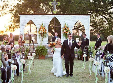 Wedding Ceremony Altar Alternatives  Altars Fake Walls