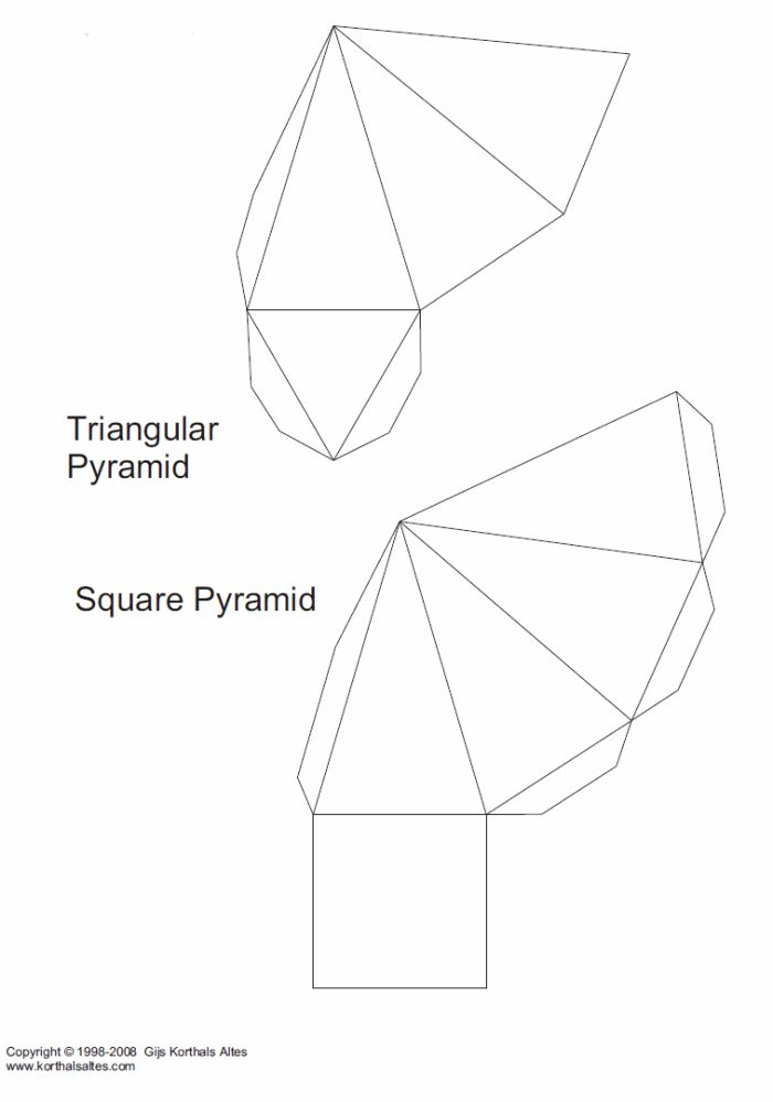 46 best images about 3D Geometric box templates on