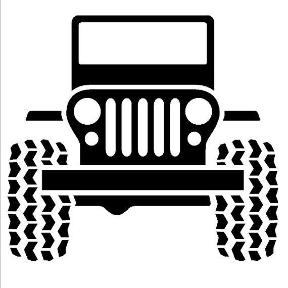 Jeep Wall Decal by OZAVinylGraphics on Etsy, $28.00