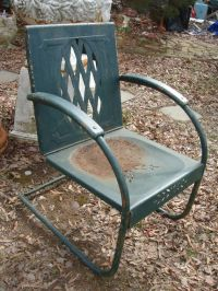 1000+ ideas about Metal Lawn Chairs on Pinterest | Pink ...