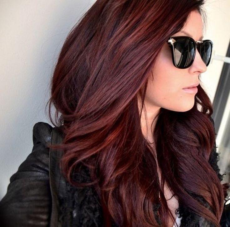 17 Best ideas about Dark Red Hair on Pinterest  Deep red hair color Deep burgundy hair color