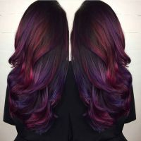 25+ best ideas about Long purple hair on Pinterest