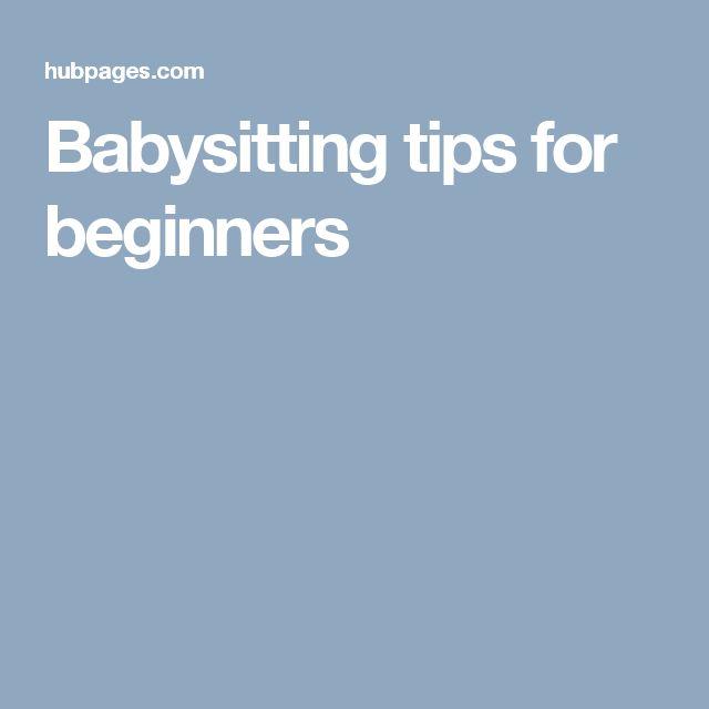 babysitting for beginners