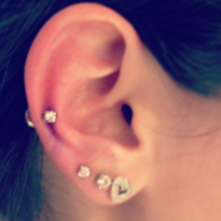 Tragus Piercing Diagram New Auricle Piercing I Love It Accessories Pinterest