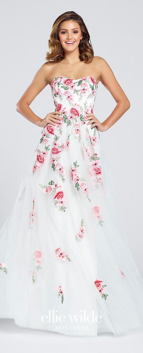 Best 20+ Floral Prom Dresses ideas on Pinterest