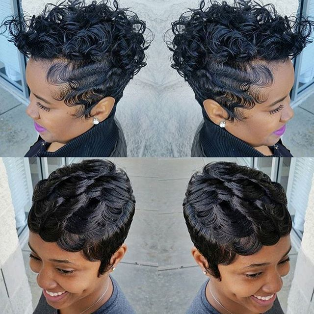 322 Best Images About Cute Styles Fingerwaves & Soft Curls On