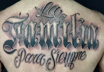20 Chicano Tattoos Block Wall Ideas And Designs