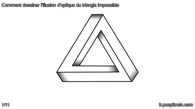 Comment dessiner l'illusion d'optique du #