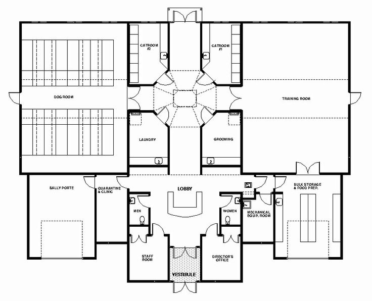 17 Best images about Dog Care Facility Floorplans on