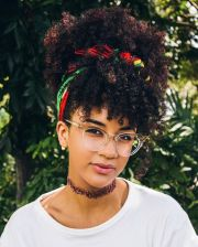 afro hairstyles ideas