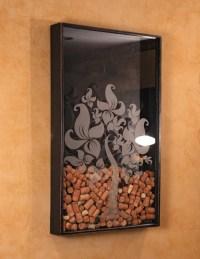 Wall Decor Wine Cork Holder | Must remember | Pinterest ...