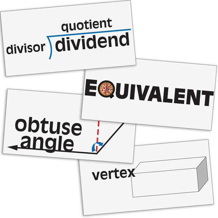 17 Best images about Math Vocabulary/Strategies on
