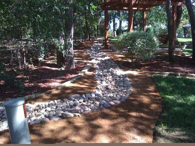 River rock drainage channel  Lawn DrainageDrainage systems  Pinterest  Rocks Rivers and