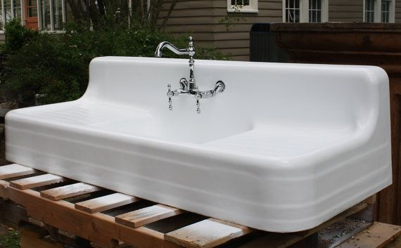 rohl kitchen faucets white island cart 1920's kohler southern plantation farmhouse sink, (60 x 24 ...