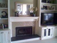 17 Best ideas about Shelves Around Fireplace on Pinterest ...