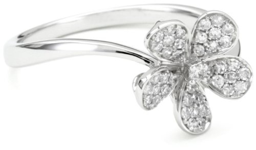 17 Best images about Diamond Flower Rings on Pinterest