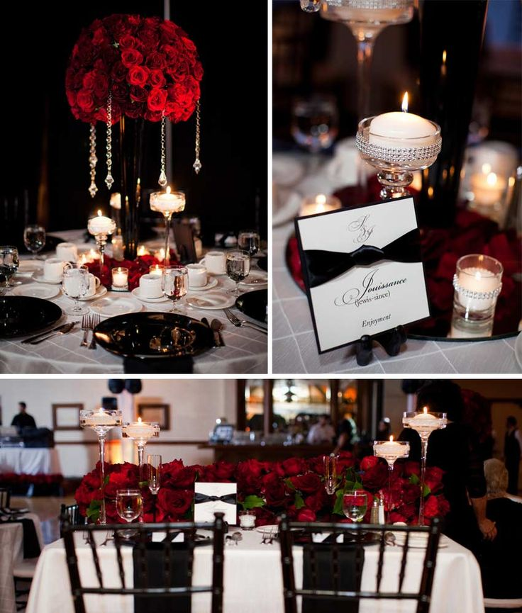 25 best ideas about Black red wedding on Pinterest  Cream candles Cream candle holders and