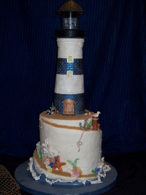 1000 Images About Cakes Lighthouses On Pinterest