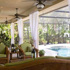 White Rattan Outdoor Sofa Montauk Sarah Perfect Relaxation Sunroom Furniture Wicker Patio Beside ...