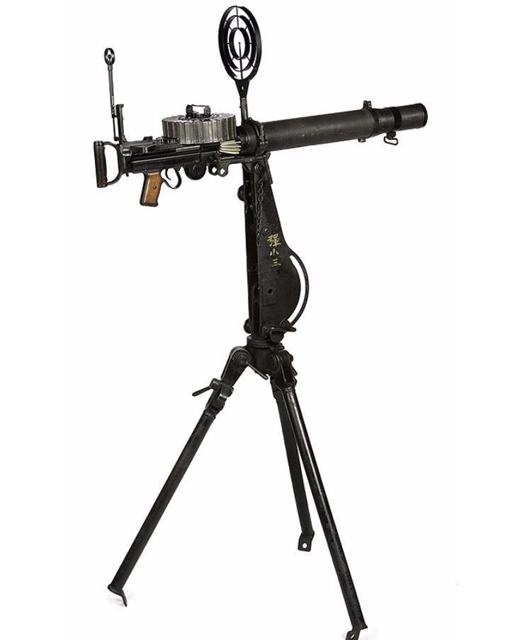 **Japanese Type 92 Naval Lewis Light Machine Gun 4/30/2013